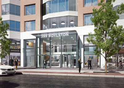 399 Boylston Street Boston Rendering
