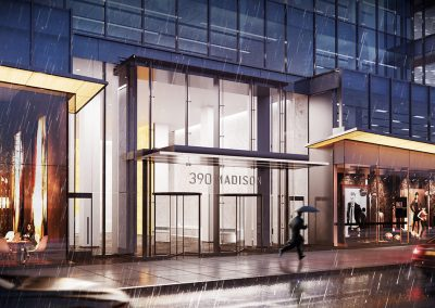 390 Madison New York Rendering