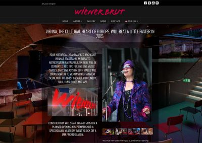Wiener Brut Night Club Web Design Services