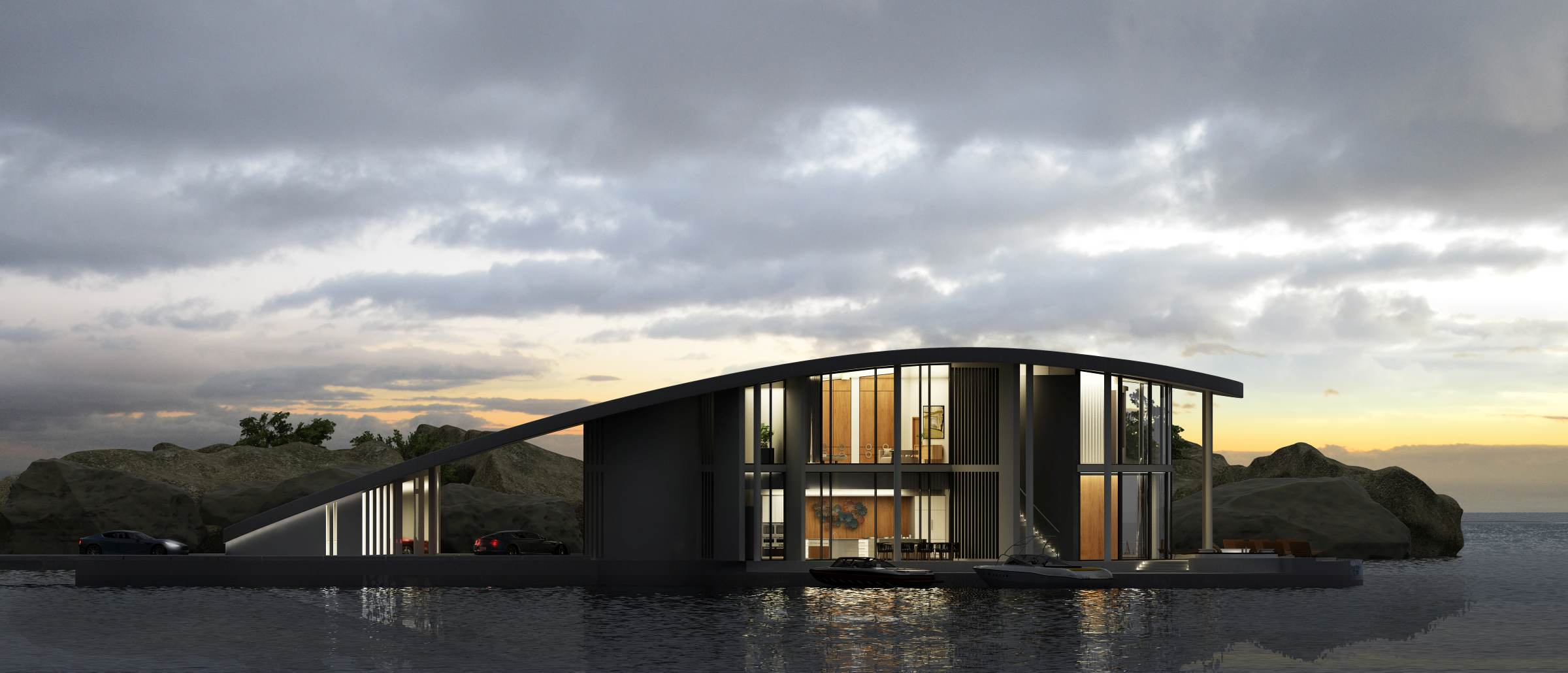Tangram 3ds Stingray Floating House Featured