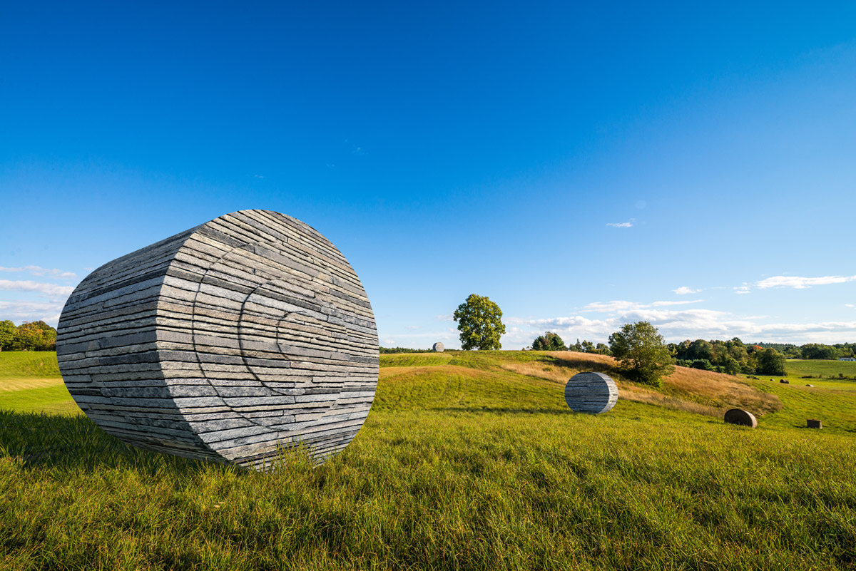Stone Bale 3D visualization renderings