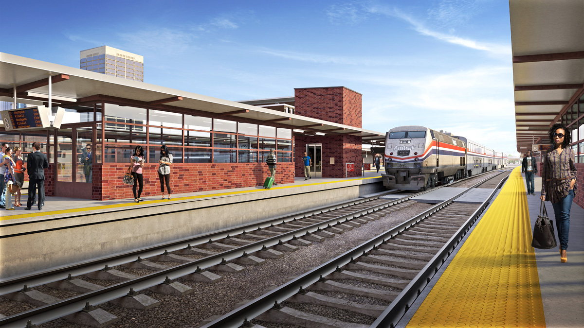 Union Station 3D visualization renderings