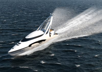 Tangram 3DS Yachts - Audax 3D visualization renderings
