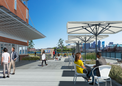 Constitution Wharf 3D visualization renderings