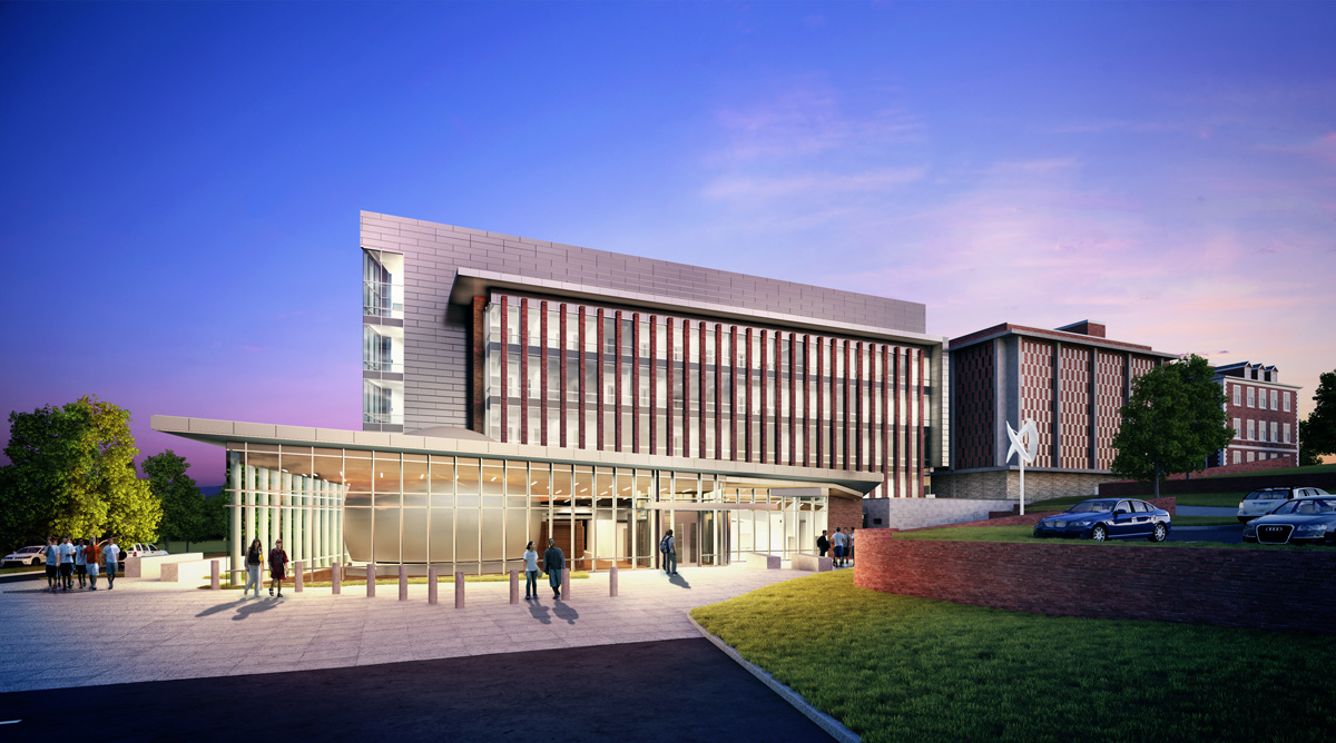 Radford University 3D visualization renderings