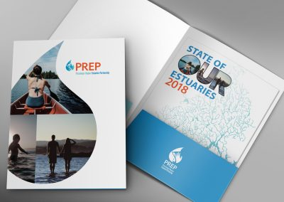 State of Our Estuaries Print Design Services
