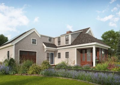 Profile Homes Coastal Cape 3D visualization renderings
