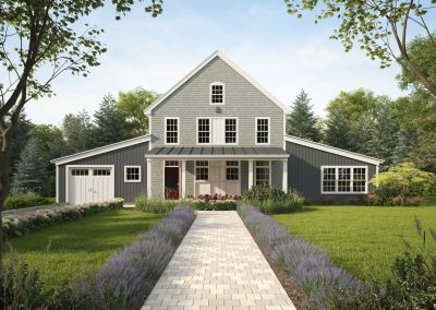 Profile Homes Barn Conversion 3D visualization renderings