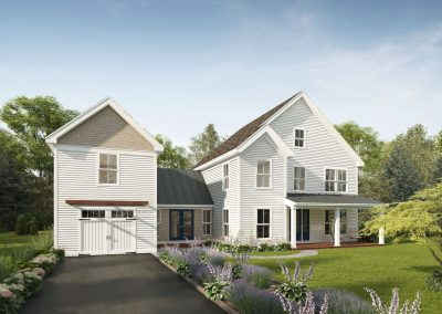 Profile Homes Farmhouse 3D visualization renderings