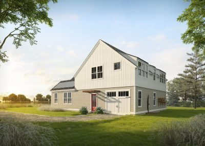Profile Homes Cottage 3D visualization renderings