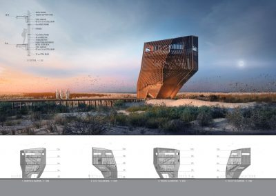 Architectural Competition: Flamingo Observation Tower