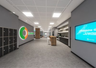 Core-Mark Center of Excellence 3D visualization renderings