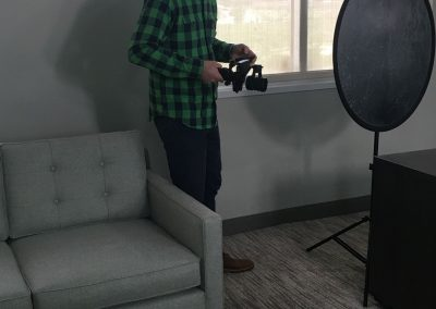On-Site in Dallas: Filming an Interview